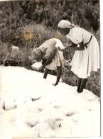 Photo Photographie Afrique Kenya Nakuru Eldoret Chute De Neige 1963 Septembre Enfants Noirs - Places