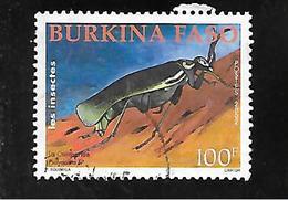 TIMBRE OBLITERE DU BURKINA DE 2002 N° MICHEL 1844 - Burkina Faso (1984-...)