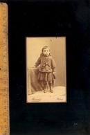 Photographie CDV : Enfant Garçon C.1890 / Photographe MARIUS 55 Rue Réaumur PARIS - Photographs