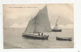 Cp, Bateaux De Pêche ,44 , LE POULIGUEN ,vierge - Pêche