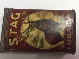 RARE BOITE A CIGARETTES STAG 1914-1918 Poilu - 1914-18