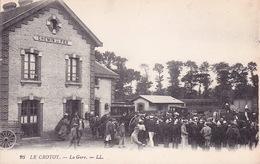CPA - 80 - LE CROTOY - La Gare - Le Crotoy