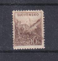 Slovaquie - Yvert 40 ** - Impression Floue - Voir Lignes - Unused Stamps