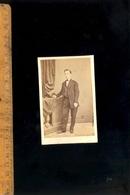 Photographie CDV : Homme C.1870 / Atelier Photographe T DUPONT à ORAN Algérie - Photographs
