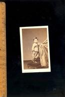 Photographie CDV : Garçon Boy C.1870 / Atelier Photographe Pierre PETIT 31 Place Cadet PARIS - Photographs