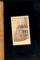 Photographie CDV : 2 Adolescents C.1870 / Atelier Photographe T DUPONT 6 Rue Philippe ORAN Algérie - Photographs