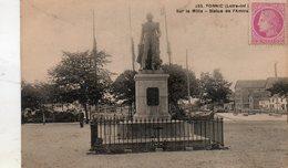 Pornic -     Sur  Le  Môle - Statue  De  L' Amirale. - Pornic
