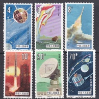 China People's Republic SG 3423-3428 1986 Space Research, Mint Never Hinged - 1949 - ... People's Republic