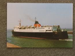 ISLE OF MAN STEAM PACKET CO TYNWALD - STERN VIEW - Ferries