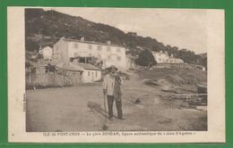 83 - Var - Hyeres - Ile De Port Cros - Carte Peu Courante - Le Pere Zordan ... - Hyeres