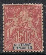 ANJOUAN N°11 N* - Anjouan (1892-1912)