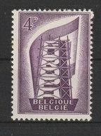 MiNr. 1044  Belgien / 1956, 15. Sept. Europa. StTdr. (56); Gez. K 11. - Belgien