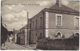 37 - Luzillé - Mairie Et école Pour Garçons - France