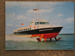 RED FUNNEL SHEARWATER HYDROFOIL - DIXON CARD - Ferries