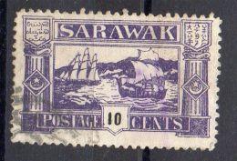 MALAISIE SARAWAK , POSTE  PRIVEE  ?  :  TIMBRE  BIEN  OBLITERE . - Gran Bretaña (antiguas Colonias Y Protectorados)