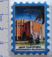 464 Space Russian Сeramic Pin. The Gagarin Cosmonaut Training Centre - Space