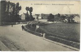 37 - Luzillé - Route De Chenonceaux à Loches - France