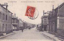 CPA - 27 - ACQUIGNY - Route De Louviers - Acquigny