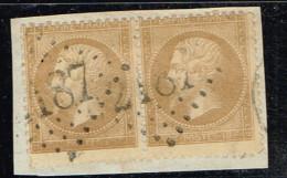 A5D-N°21 Légende Complètement éffacée. - 1862 Napoleon III
