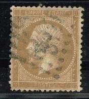 A6D-N°21 Variété Sans La Valeur Faciale.     Sans Pli Ni Aminci - 1862 Napoléon III