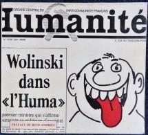 """WOLINSKI Dans  """" L'HUMA """" - Éditions De L'Humanité - ( 1977 ) . - Wolinski"""