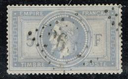 A7D-N°33 Sans Défaut Signé Calves - 1863-1870 Napoleon III With Laurels