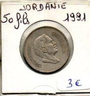 Jordanie. 50 Fils 1991 - Jordanie