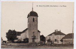 70  MALVILLERS    La Place - Frankrijk