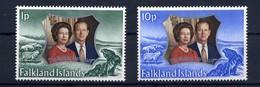 Falkland, Yvert 217&218, Scott 223&224, MNH - Falklandeilanden