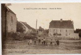 70  MALVILLERS    Route De Melin - Frankrijk