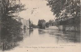 Vaucluse : L'ISLE-sur-SORGUE : La Sorgue Aprés Le Pont Des 5 Cours - L'Isle Sur Sorgue