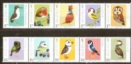 Ile De Man  2016  Micheln° 2128-2137 *** MNH Faune Oiseaux Vogels Birds - Man (Eiland)