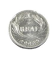 1/4 Réal - Guatemala - 1897 - Argent - Sup- - Guatemala