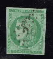 A8D-N°42 Sgné BULHER + Certificat Peter BONER + Signé JF Brun - 1870 Bordeaux Printing