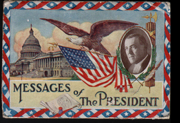 Etats-Unis D'Amerique, Messages Of The President, - Presidents