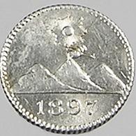 1/4 Réal - Guatemala - 1897 - Argent - Sup - - Guatemala
