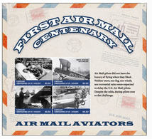 CANOUAN ST-VINCENT 2018 FF AIRPLANES LARGE SHEET STAMP ON STAMP MNH S14477-2 - Airplanes