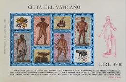 """Vatican  1987 OLYMPHILEX """"87 S/S - Vatican"""