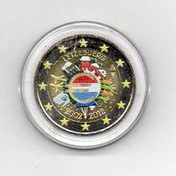 Lussemburgo - 2012 - Moneta Da 2 Euro - Decennale Euro - Colorato - In Capsula - (MW1635) - Lussemburgo