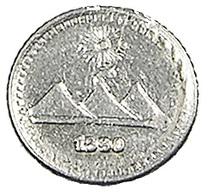 1/4 Réal - Guatemala - 1890 - Argent - TTB - - Guatemala