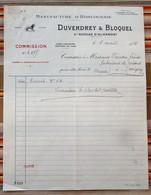 76 SAINT NICOLAS D'ALIERMONT DUVERDREY BLOQUEL Horlogerie BAYARD 1915 - France