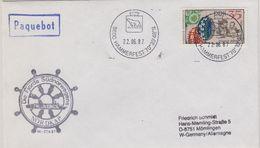 DDR 1987 MS Arkona Cover Ca Hammersfest 22.06.87 (41034) - Poolshepen & Ijsbrekers