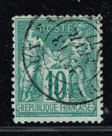 A9D-N°76 Sans Défaut - 1876-1878 Sage (Type I)