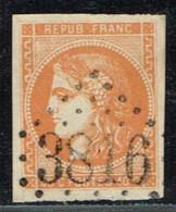 A9D-N°48 Orange  Sans Défaut Voir Scan De Comparaison Des Nuances - 1870 Bordeaux Printing