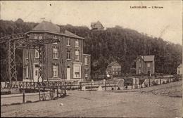 Cp Landelies Montigny Le Tilleul Wallonien Hennegau, L'Ecluses, Stadtansicht, Brücke - Belgium