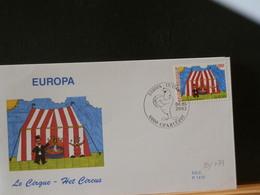 80/479    FDC BELGE  2002 - Circus