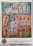Vatican  1990 Caritas Intl. 40th .Anniv  S/S - Vatican