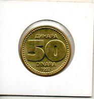 Yougoslavie. 50 Dinara 1992 - Yougoslavie