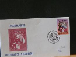 80/482    FDC BELGE  2000 - Bandes Dessinées