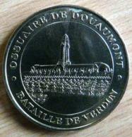 OSSUAIRE DE DOUAUMONT BATAILLE DE VERDUN 2003 MONNAIE DE PARIS COLLECTION NATIONALE MEDAILLE OFFICIELLE JETON - Monnaie De Paris